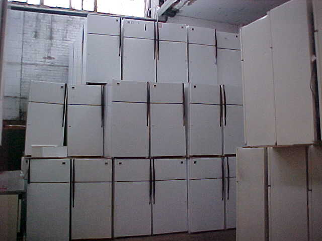 appliance warehouse stackedrefrig